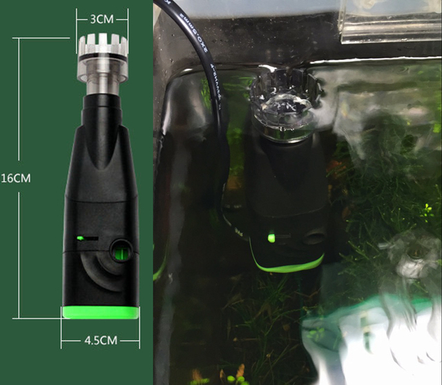 Buy mini efficient surface skimmer 5w for Above water fish tank