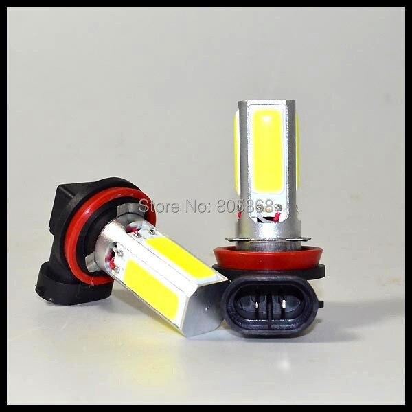 10X High Power Lamp H11 H8  COB LED Fog LAMP DRL LED SMD Day Driving car led Headlight Bulb  cob 20w led