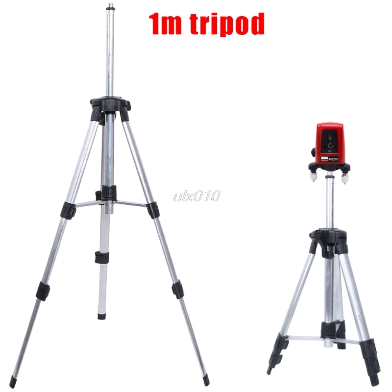 Portable 1m Adjustable Height thicken aluminum Tripod 5/8