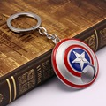 Personality Movie Super Hero Captain America Pendant Key Chain bottle opener key Holder  Metal Avengers Keychain Cosplay Jewelry