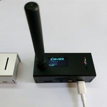 Mmdvm v1,7 suporte hotspot montado, p25 dmr ysf nxdn + raspberry pi zero w + antena oled + 16 cartão sd g + caso