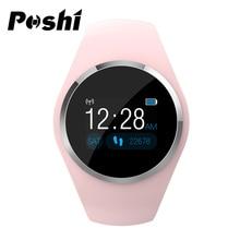 Bluetooth Smart Watch Women Sport Watch Digital Touch Smart Wristband Silicone Color Band Waterproof Heart Rate Smart Watch Men