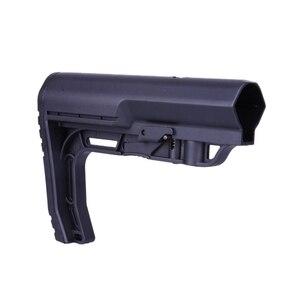 Image 1 - 2019 nuevo táctico ajustable Stock Mil táctico MFT nailon claro cuidado posterior Nylon táctico minimalista caza componentes