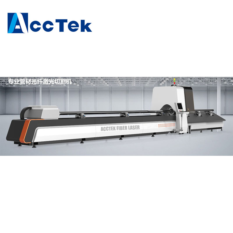 Tube Cut CNC Laser Cutting Carbon Steel Stainless Steel Fiber Laser Cutting machine