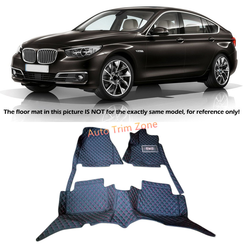 цена Interior Floor Mats & Carpets Foot Pads For BMW 5 Series GT F07 2010-2015 онлайн в 2017 году