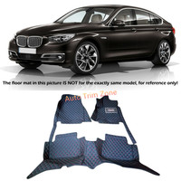 Interior Floor Mats & Carpets Foot Pads For BMW 5 Series GT F07 2010 2015