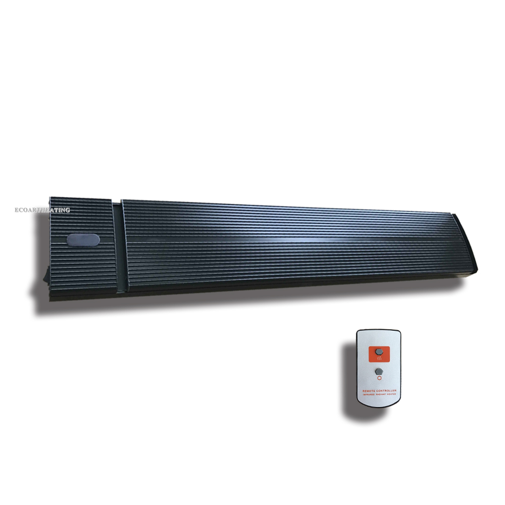 Electric Gazebo Patio Heater with Remote Controller 1800W Outdoor Infrared Radiant Heaters SAA Certification 2x2000w ip65 heater wall mounted patio radiant electric heater home appliances halogen ir heaters waterproof for outdoor indoor