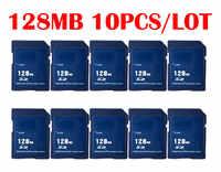 10 pièces/lot Carte mémoire SD 32MB 64MB 128MB Carte SD Mini cartes mémoire SD pour fournisseur de gros avec haute qualité pas cher nouveau