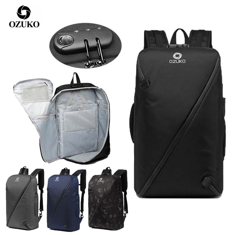 OZUKO 9234 City Anti Theft Backpack Men Multifunction Business Bagpack Waterproof 15 6 Laptop Backpacks Travel