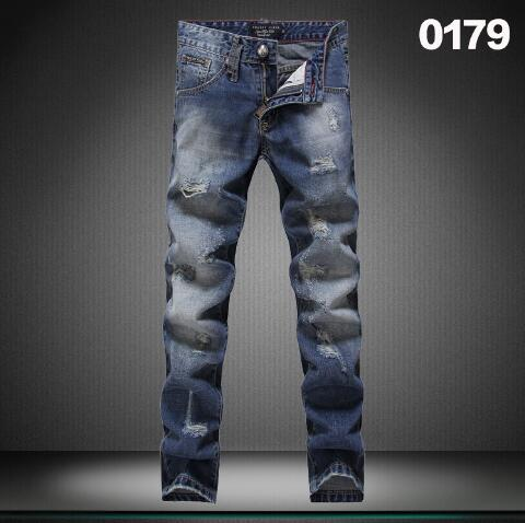 18 style 2016 new Autumn and winter High quality Jeans men Brand mens trousers hole fashion The cat must be Water washing