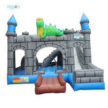 Hot sale Free Shipping outdoor games Pvc inflatable bouncy castles for children with free kits