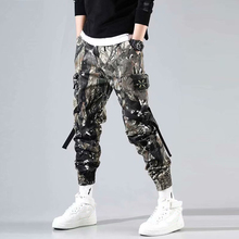 2019 New Overalls MenS Tide Brand Harem Pants Beam Casual Jungle Camouflage Desert