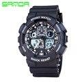 2017 New SANDA Fashion Watch Men G Style Waterproof Sport Quartz Watches Shock Men's Relogio Digital Watch Reloj Hombre