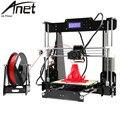 Автоматическое Выравнивание Anet A6/A8 3D Принтер DIY Kit Prusa i3 Настольных ЖК-Экран Управления Дисплей 3D Комплект Принтера