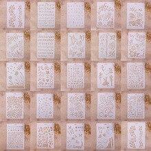 1 шт. различные узоры Аэрограф живопись Трафарет DIY домашний декор Скрапбукинг альбом Ремесло Искусство#233653