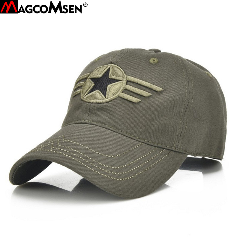 MAGCOMSEN Military Cap Men Summer Sun Protection Baseball US Army Hats Tactical Combat Hats Male Airsoft Accessories AG-AT-02 бейсболк мужские