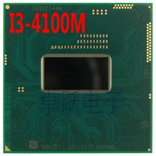Intel CPU I3-4100M SR1HB I3 4100M SRIHB 2.5G/3M HM86 HM87 cpu processor Official version scrattered pieces free shipping