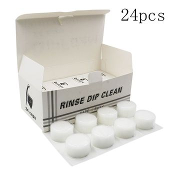 24pcs/bag Tattoo Disposable Dip Foam for Needle and Tip Rinse Dip Clean Professional Cartridge DipFoam Cleaning Cup Tattoo Clean cd4081be dip 14 page 7