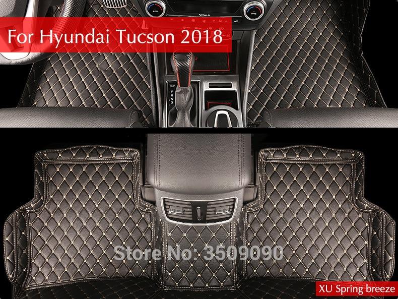 Tapis de Sol De voiture Coussin Housse De Protection Anti-sale Coussin Pour Hyundai Tucson 2016 2017 2018 2019 3TH RHD bâches de voiture