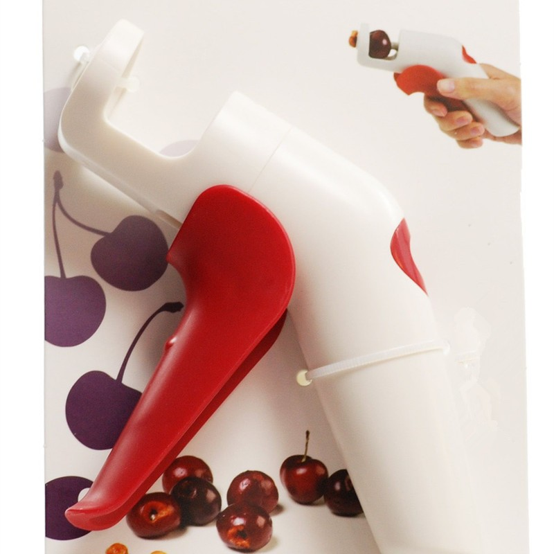 Nordic Cherries Creative Kitchen Gadgets Tools Pitter Cherry Seed Fast Enucleate Keep Complete Creative Tools