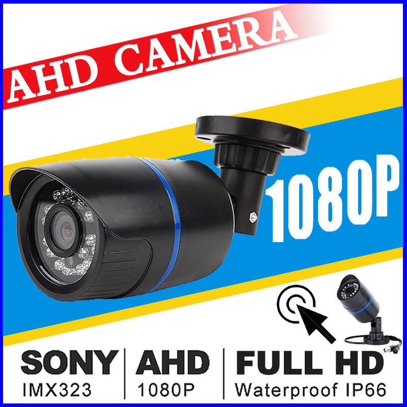 Full 1080P Security Surveillance Mini AHd Camera 720P 960P Outdoor Waterproof IP66 infrared HD Night Vision Color CCTV vidicon