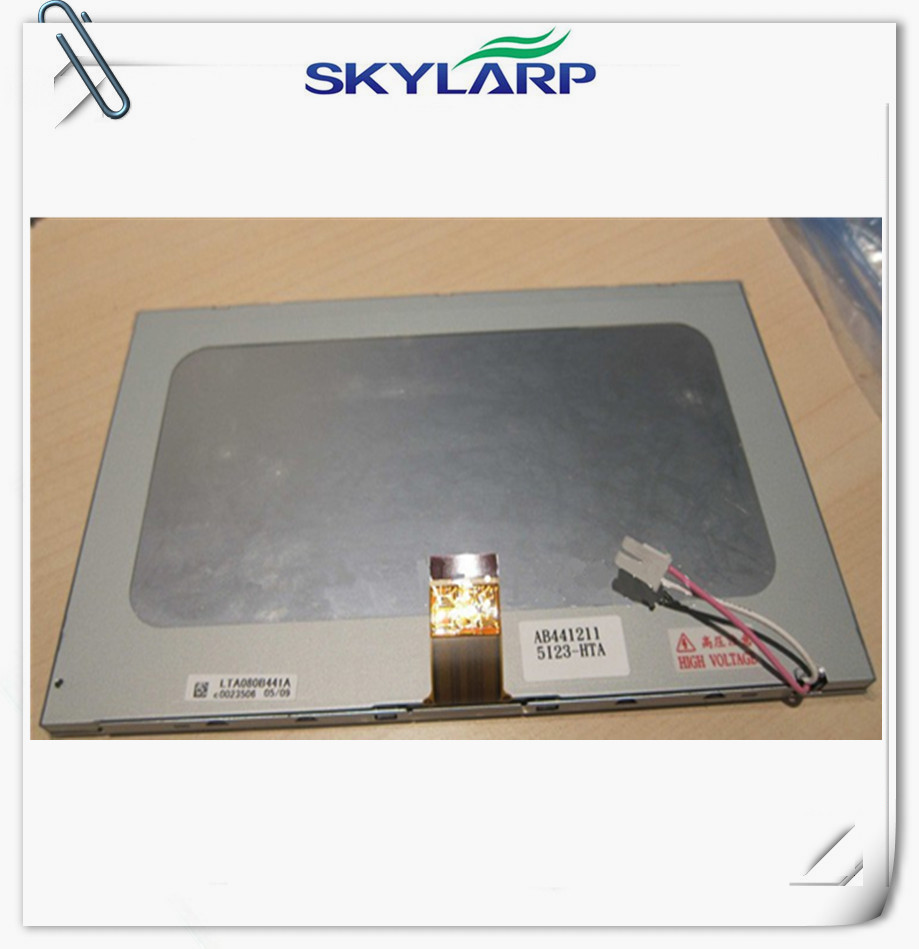 ФОТО 8 inch LCD panel For Toshiba LTA080B441A tablet PC for Car GPS navigation LCD display screen panel Free shipping