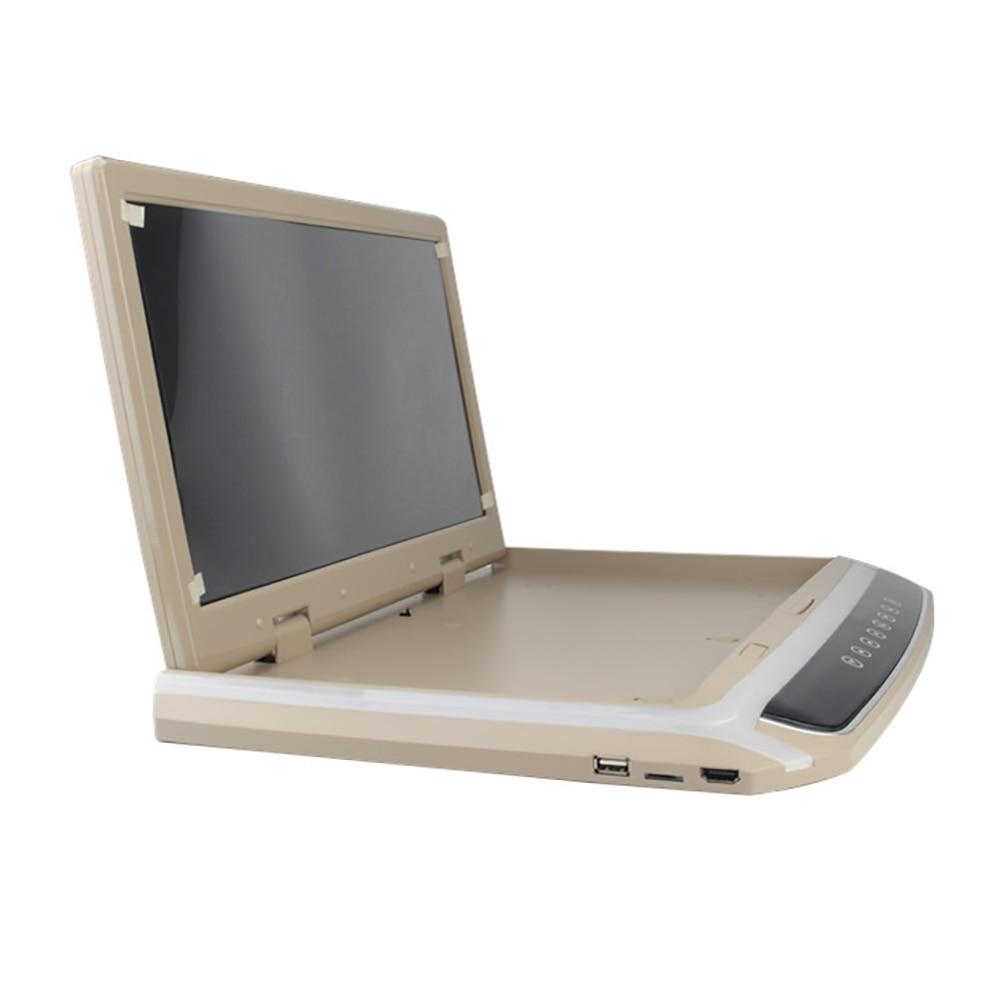 14.1 дюймов TFT ЖК дисплей автомобиль HDMI Мониторы потолочный откидной Дисплей dvd плеер с двумя видео Вход тонкий HD Мониторы