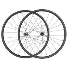 Juego de ruedas de carbono para bicicleta de montaña, peso ligero, 1220g, 29er, XC, 30mm x 30mm, sin capucha, 24H, 28H, D411SB, D412SB, 6 tornillos o CL