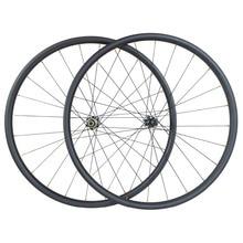 Light weight 1220g 29er MTB XC 30mm x 30mm hookless 24H 28H straight pull carbon wheelset D411SB D412SB 6 bolt or CL disc wheels