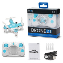 Free Shipping Kid's Gift DHD1 4CH 2.4G RC Helicopter Quadrocopter LED Mini Aircraft UFO KE0010