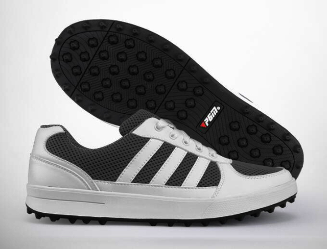PGM Men golf shoes mesh Breathable soft comfortable non-slip professional Golf Shoes men golf Sneakers men leather sneakers