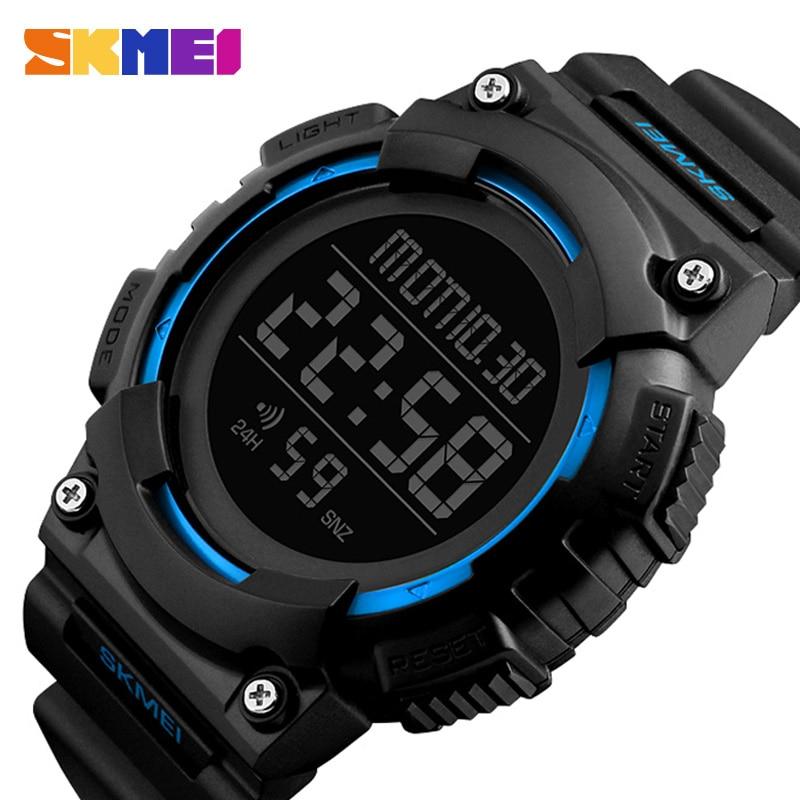 5ab2e8730 SKMEI Módní sportovní hodinky Muži Military Chrono Countdown ...