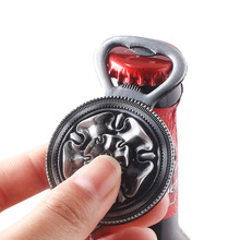Game of Thrones Beer Bottle opener Keychains Vintage Pattern Family LOGO Pendant For Man Bag Car Jewelry