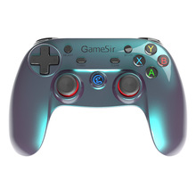 Gamesir g3vควบคุมบลูทูธไร้สายโทรศัพท์ควบคุมสำหรับios iphoneโทรศัพท์android tv androidกล่องแท็บเล็ตพีซีvrเกม