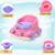 Venda quente de Grande Capacidade Feminino Masculino Crianças Assento Bacio Bebé Higiênico Bebê Higiênico Closestool Separáveis Portátil Frete Grátis