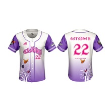 2019 New Baseball Shirt Jerseys Men Sublimation Customized Name Number Jersey Chemise Homme