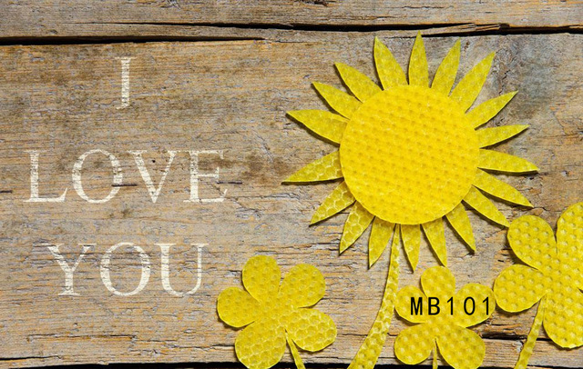 Mothers day valentines day i love you wood photography backdrops mothers day valentines day i love you wood photography backdrops yellow sun flowers family party photo mightylinksfo