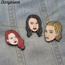 L2600 Riverdale figure Art Pins Enamel Brooches for Women Lapel pin Cartoon Metal Badge Collar Jewelry Gifts 1pcs(China)