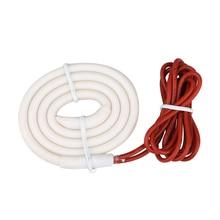 Chauffe eau chauffant contre pluie 6 W, pour le drainage chauffant du lit, fil chaud évasé, DY833 tuyau de drainage à blocage de la glace pour le réfrigérateur, 54cm