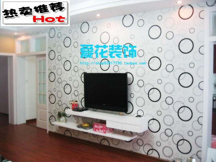 Customize Modern Design Waterproof Pvc Wallpaper Fashion Bedroom