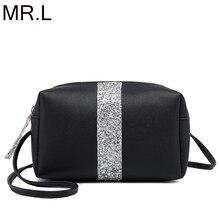MR.L Small Women Messenger Bags High Quality Flag Cross Body Bag PU Leather Mini Female Shoulder Bag Handbags Bolsas Feminina