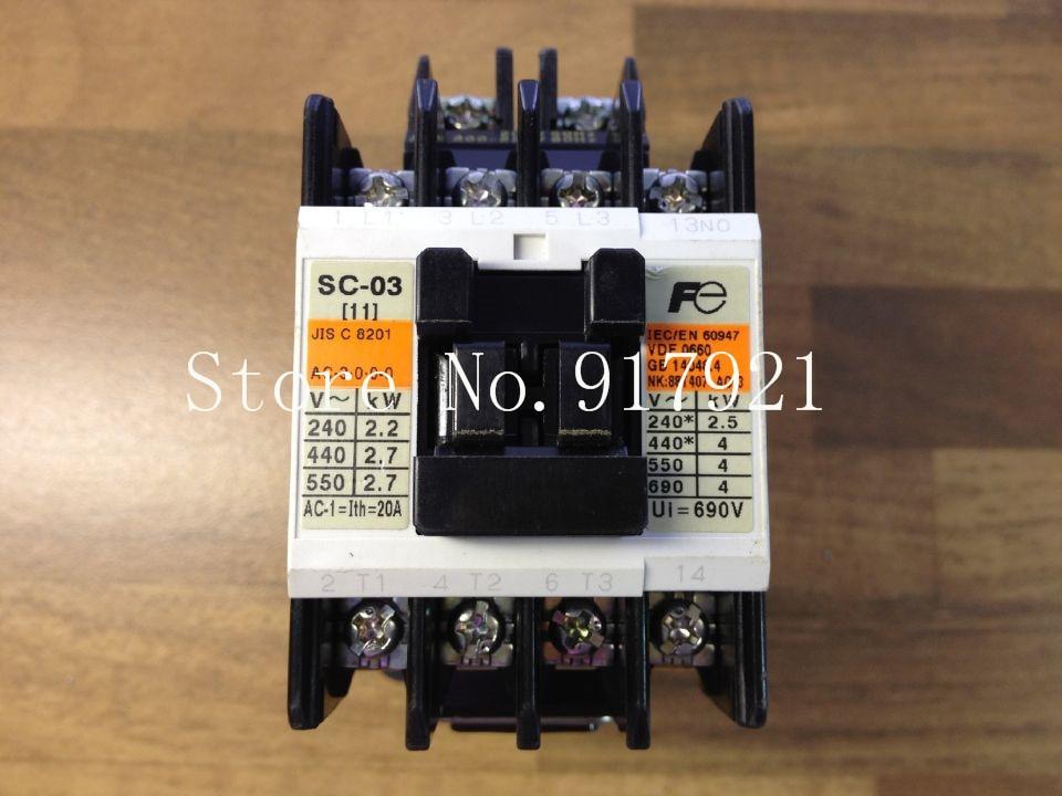 [ZOB] Japan Fuji Fe SC-03 AC contactor 220VAC genuine original  --5pcs/lot