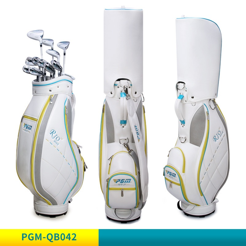 2020 Pgm Standard Golf Bag Womens Waterproof Golf Clubs Ball Package Bags Outdoor Large Capacity Travelling Bags D0478
