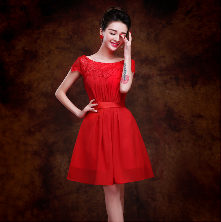 Red Plus Size Short Prom Dresses Promotion-Shop for Promotional ...