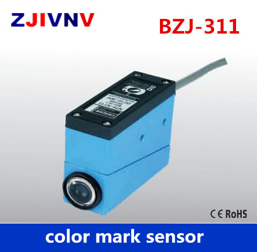 BZJ-311 Packing Machine photocell switch color mark Sensors Auto tracking/rectify deviation, auto detection photoelectric eyes color mark sensor photoelectric switch for packing machine bzj 313