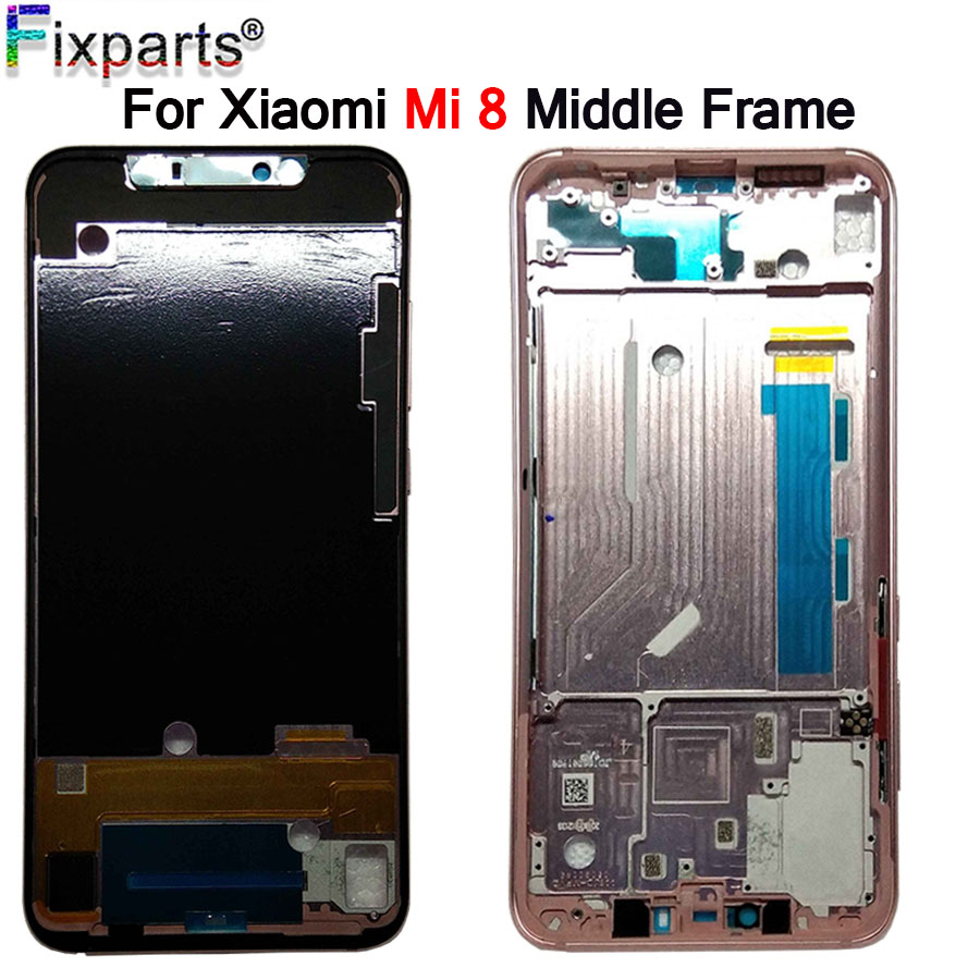 For Xiaomi Mi 8 Middle Frame Front Bezel Housing Rear Door Free Shipping Mi8