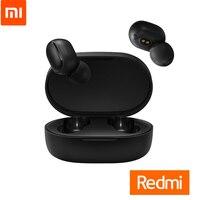 Original Xiaomi Redmi AirDots TWSEJ04LS Earphone Bluetooth 5.0 DSP Active Noise Cancellation True Stereo Wireless Smart earphone