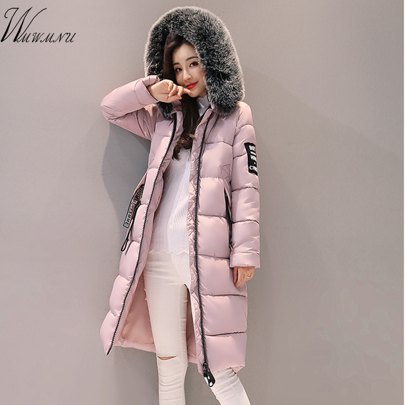 Special 2017 Winter Thick Outwear Coat Women Winter Woman Long   Parkas   Thickening Hooded Jacket for Women High quality