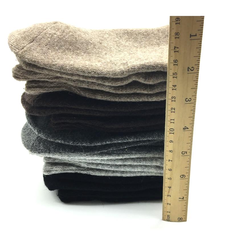 Image 4 - 5 Pairs/Lot Thick Wool Socks Men Winter Warm Cashmere Breathable Socks Male Meias Hot Sale-in Men's Socks from Underwear & Sleepwears on AliExpress