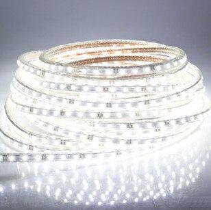 5050 LED ժապավեն 220V 230V 240V 5M / Roll սպիտակ RGBY - LED լուսավորություն - Լուսանկար 2